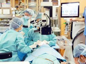 白内障手術風景